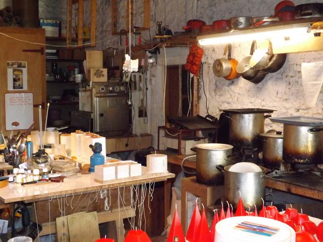 atelier bougies artisanales