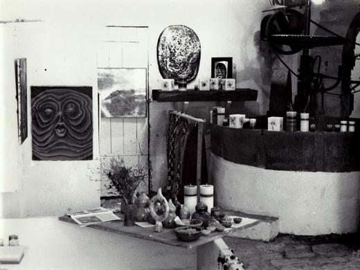ancien atelier Roland Lienhardt