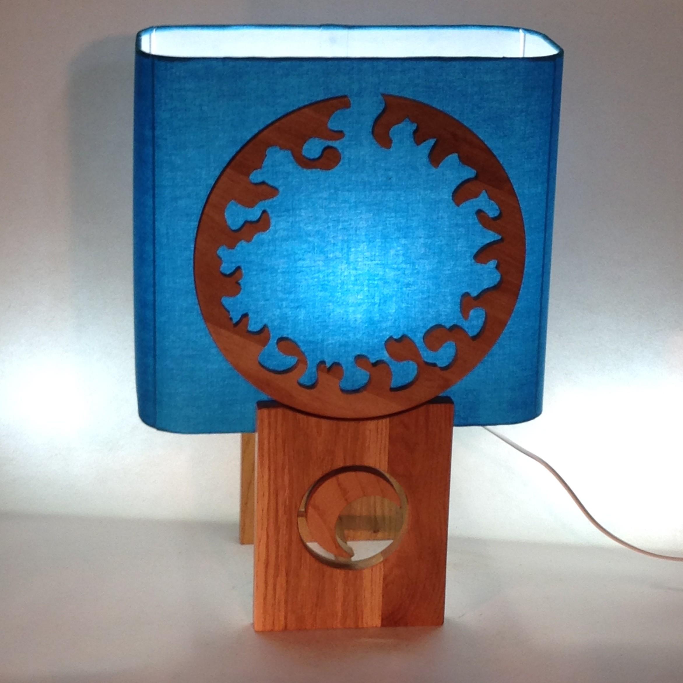 Lampe ARIANE abat-jour au choix